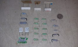 5BB94 RESISTORS: TWO DOZEN ASSORTED, GOOD CONDITION - $9.55