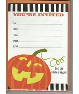 "10 Hallmark Halloween ""You're Invited-Let the Smiles Begin!"" Autumn/Fall... - $9.99"