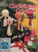 Crochet Pattern Booklet-CHRISTMAS CROCHET-Vol. 3-Home Decorations-Orn-To... - $3.95