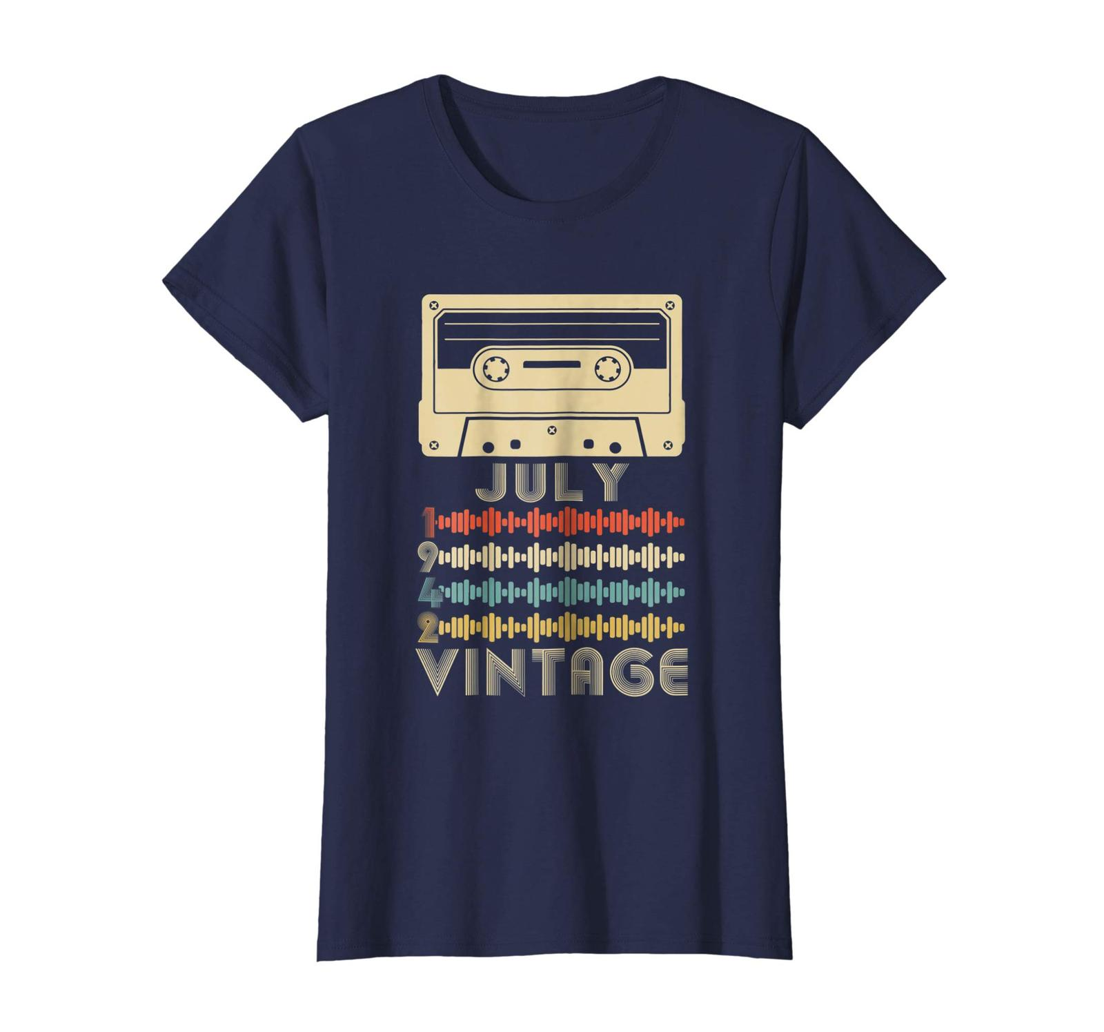 Uncle Shirts -   Vintage Retro Made In July 1942 76th Birthday Gift 76 years Wow image 4