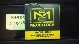 piston rings #87935 for vintage mcculloch go kart engine - $39.99