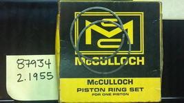 piston rings #87934 for vintage mcculloch go kart engine - $39.99