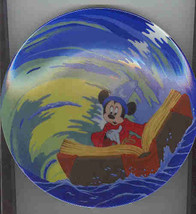Disney  Mickey Sorcerer Whirpool  Lt.  Ed. Plate AFTER - $74.99