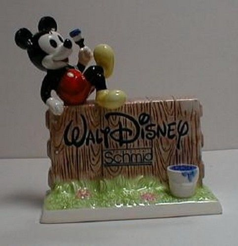 Primary image for Mickey Mouse WD Signature Schmid Dealer Display
