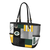 Green Bay Packers Womens Shoulder Tote Bag Official NFL Team Logo Purse ... - $197.97