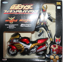 Masked Rider Kamen Figure & Bike Machine Tornader Agito 2001 Banpresto - $69.62