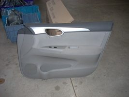 2013 NISSAN SENTRA RIGHT FRONT DOOR TRIM PANEL