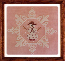 Mrs. Snowflake cross stitch chart Misty Hill Studio - $9.00