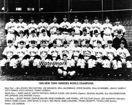 MLB 1939 New York Yankees World Series Champions Team Picture 8 X 10 Photo Pic - $6.99
