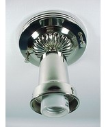 Bead Chain Fixture Art Deco Ceiling Light Shade... - $60.95