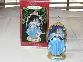 Hallmark Keepsake Ornament Walt Disney's Cinderella Enchanted 1997 Chris... - $16.03