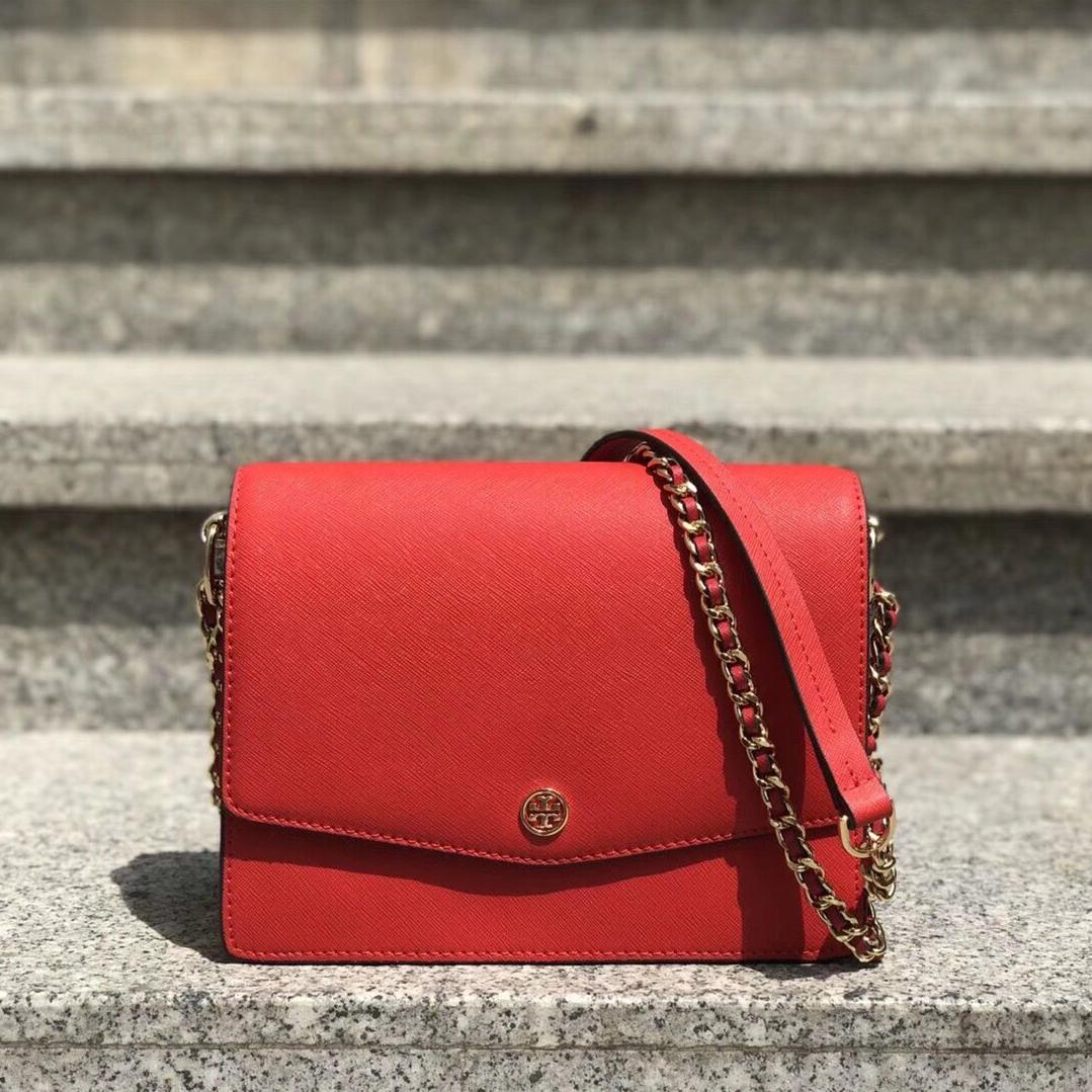 New Tory Burch Robinson Convertible Shoulder Bag