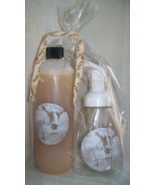 Goat Milk Foaming soap, coconut and jojoba oil, Jewel Soap, 6 varieties - $12.00
