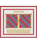 Exodus 23:36 cross stitch chart Cross Stitch Cards - $9.00