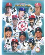 Boston Red Sox Greats Fenway's Finest 8X10 Color Baseball Memorabilia Photo - $6.99