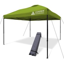 Pop Up Canopy w/Wheeled Carry Bag Metal Frame Wind Proof Fabric 10'x10' ... - $187.49