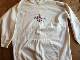 Capezio Sweatshirt good Condition Large White hoodie - $15.38