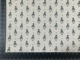 Vintage Duck Grey Linen Look High Quality Fabric Material 3 Sizes - $7.34+
