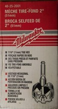 "Milwaukee 48-25-2001- 2"" Bit With 7/16"" Shank Selfeed Drill Bit USA - $15.84"