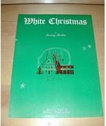 White Christmas-Irving Berlin~ Sheet Music 1940 Nice! - $19.76
