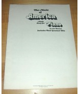 Music of America Made for for Piano~Jan Thomas~1976 WB! - $19.76