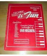 1948 Technic is Fun-Preparatory Book-sheet music 45 pgs - $19.76