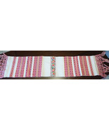 Croatian vintage traditional folk decorative towel cloth 60 year old han... - $148.50