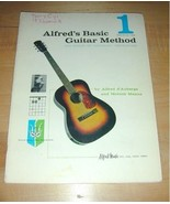 ALFRED's BASIC GUITAR METHOD 1~Group or Individual~1959 - $19.76