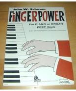 John Schaum Fingerpower-PrepBook for Piano/Organ - $19.76