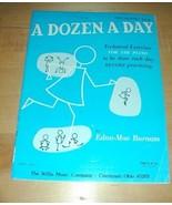 A Dozen A Day- Piano Exercises Book~Preparatory book - $19.76