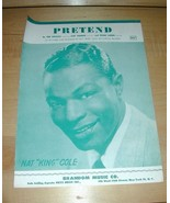 PRETEND (Nat King Cole) piano sheet music 1952 - $19.76