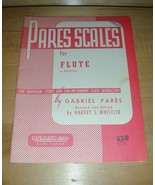 PARES SCALES for FLUTE / PICCOLO~Individual or Class - $19.76