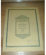 Schirmers Library 1874 DUVERNOY The SCHOOL of MECHANISM - $19.76