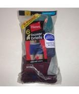 Hanes Men's Boxer Briefs 5-Pack 7349C6 - Assorted Colors Sz M Comfort Fl... - $22.76