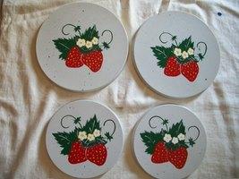 Strawberry burner covers set of 4 - $14.95