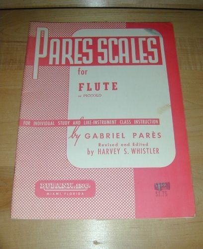 PARES SCALES for FLUTE / PICCOLO~Individual or Class