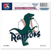 """Ogden Raptors Official Minor League Baseball 4.5""""X6"""" Car Window Cling Decal - $7.67"""
