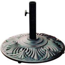 Patio Umbrella Iron Base Amazon Outdoor Furniture Cast Aluminum Bronze. image 4