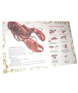 Lobster Placemats Laminated Instructions on How... - $11.99