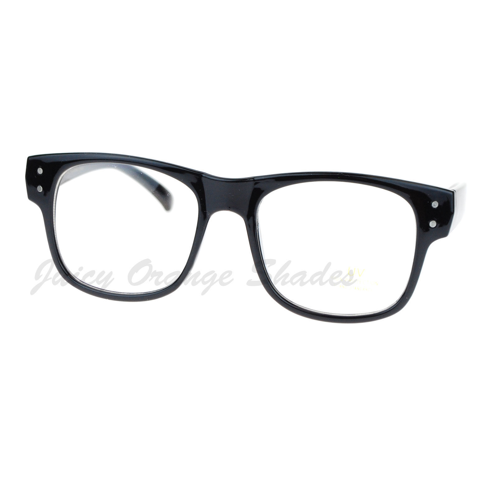 Square Framed Fashion Glasses : Square Frame Clear Lens Eyeglasses Nerdy Fashion Glasses ...