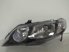 Fits 2009 2010 2011 Honda Civic Sedan Driver Lh Halogen Headlight By Depo D108L - $97.00