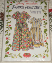 The Paisley Pincushion Prairie Point Dress Ladies size 6 thru 20 uncut  - $18.00