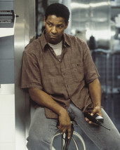 Denzel Washington John Q Holding Gun 16x20 CanvasMovie Poster - $69.99