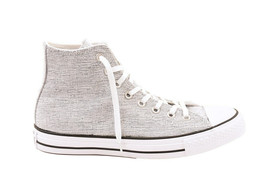 Converse Womens CTAS Sparkle Knit 553411C Sneakers Grey Size UK 7 - $70.80