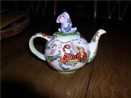 Disney Eeyore Tigger Winnie the  Pooh Teapot Dish Washer safe - $199.99