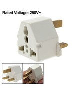 3 Pin Standard UK Plug to Universal Socket Travel Adapter 250VAC - $1.99