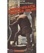 NEW VHS The Hunchback of Notre Dame b&w: Charles Laughton Maureen O'Hara... - $3.49