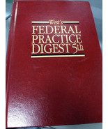 West's Federal Practice Digest 5th #92 Civil Rights 1537 to 1544 - $44.98