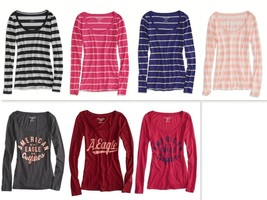 American Eagle Outfitters AEO Long Sleeve T-Shirt Tee - $263,57 MXN