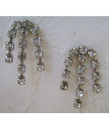 Earrings, Rhinestone, Post  - $7.00